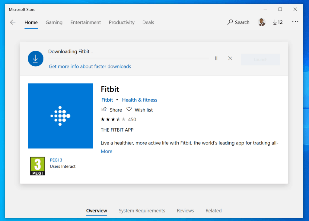 How to Install Fitbit App for Windows 10 Directly from Microsoft Store