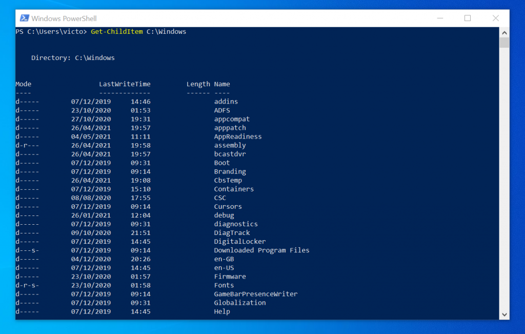 How to Copy All File Types in A Folder With PowerShell