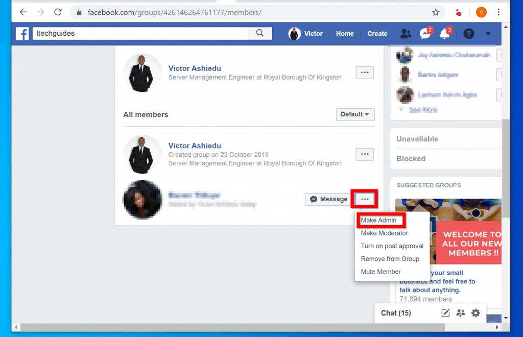 How to Add Admin to Facebook Group (from PC or Mobile App)