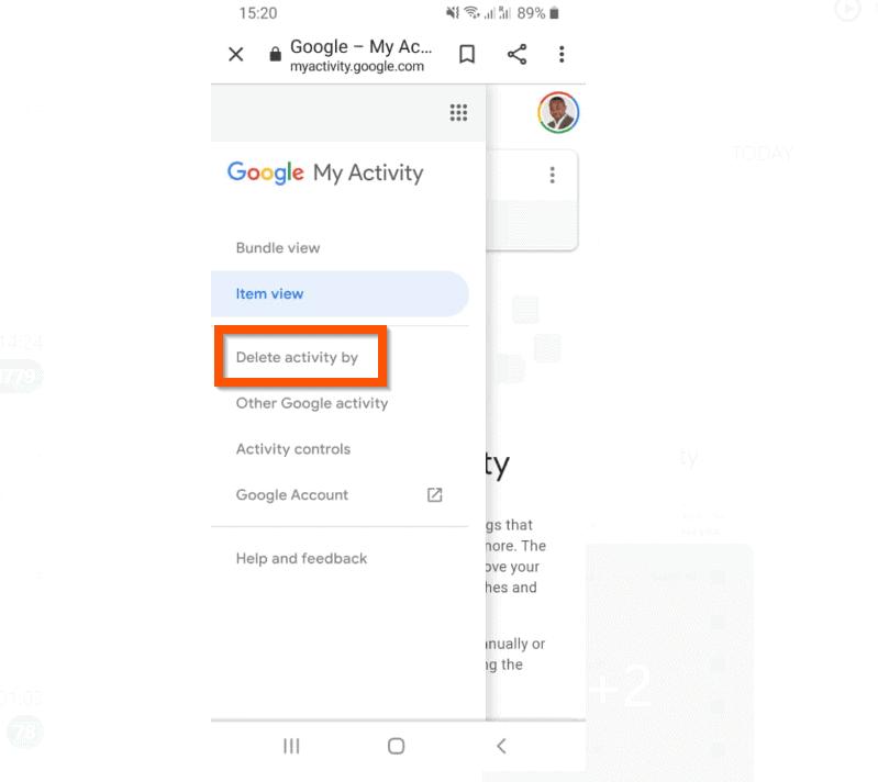 Cara Menghapus Riwayat Pencarian Google dari Aplikasi Android